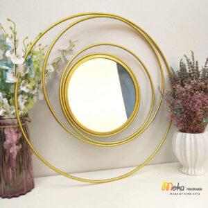 gương tròn decor