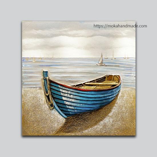 tranh noi son dau mono boat